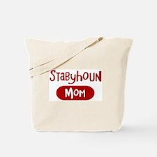 Stabyhoun mom Tote Bag