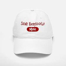 Saint Berdoodle mom Baseball Baseball Cap