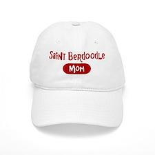 Saint Berdoodle mom Baseball Cap