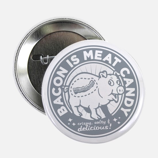 "bacon is meat candy 2.25"" Button"