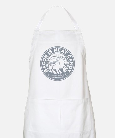 bacon is meat candy BBQ Apron