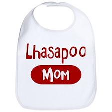 Lhasapoo mom Bib