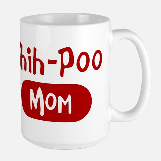Shih-Poo mom Large Mug
