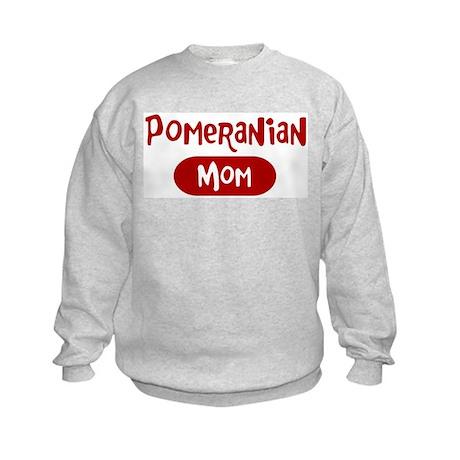 Pomeranian mom Kids Sweatshirt