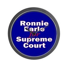 Earle for Supreme Court. Wall Clock