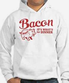 bacon it's what's for dinner Hoodie