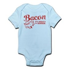 bacon it's what's for dinner Infant Bodysuit