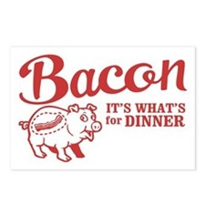 bacon it's what's for dinner Postcards (Package of