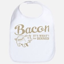 bacon it's what's for dinner Bib