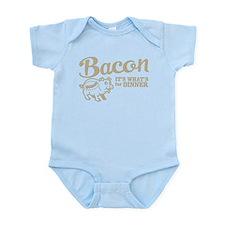 bacon it's what's for dinner Infant Bodysuit