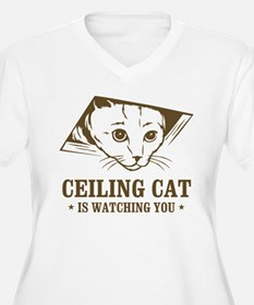 ceiling cat is watching you T-Shirt