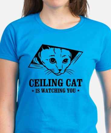 ceiling cat is watching you Tee
