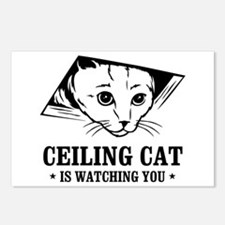 ceiling cat is watching you Postcards (Package of