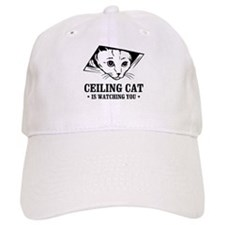 ceiling cat is watching you Baseball Cap