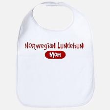Norwegian Lundehund mom Bib