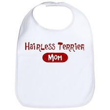 Hairless Terrier mom Bib