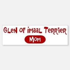 Glen of Imaal Terrier mom Bumper Bumper Bumper Sticker