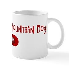 Entlebucher Mountain Dog mom Small Small Mug