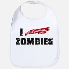 i shotgun zombies Bib