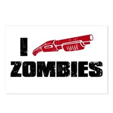 i shotgun zombies Postcards (Package of 8)
