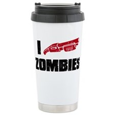 i shotgun zombies Travel Mug