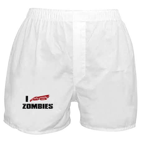i shotgun zombies Boxer Shorts