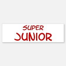 Super Junior Bumper Bumper Bumper Sticker