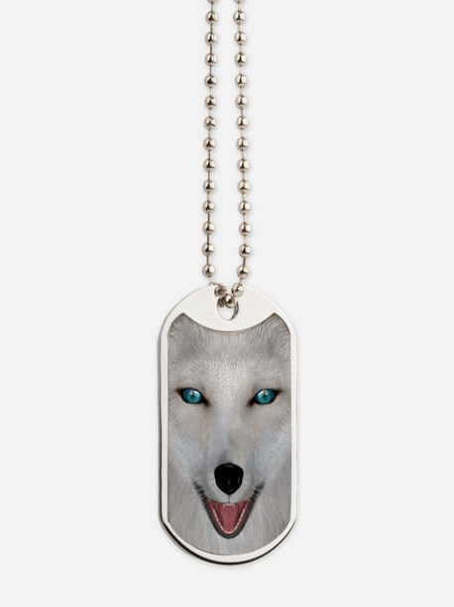 Arctic Fox Dog Tags