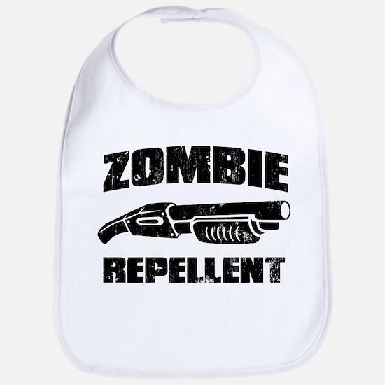 shotgun zombie repellent Bib