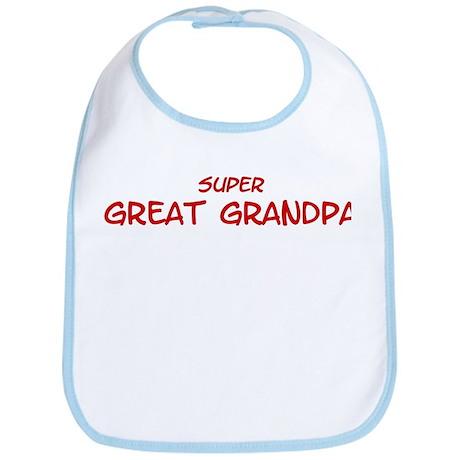 Super Great Grandpa Bib