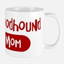 Bloodhound mom Mug