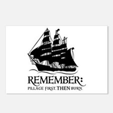 remember - pillage first, THEN burn Postcards (Pac