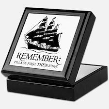 remember - pillage first, THEN burn Keepsake Box
