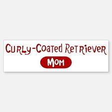 Curly-Coated Retriever mom Bumper Bumper Bumper Sticker