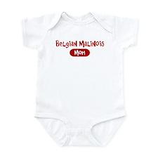 Belgian Malinois mom Infant Bodysuit