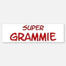 Super Grammie Bumper Bumper Bumper Sticker