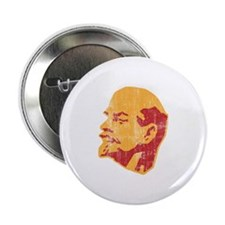 "lenin retro portrait 2.25"" Button"