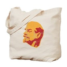 lenin retro portrait Tote Bag