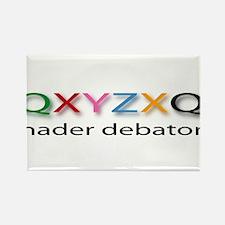 Nader Debater QXYZXQ Rectangle Magnet
