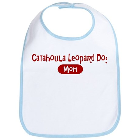 Catahoula Leopard Dog mom Bib