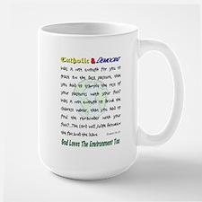 God Loves the Environment Mug