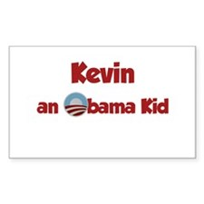 Kevin - Obama Kid Rectangle Decal