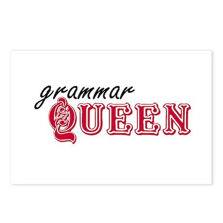 Grammar Queen Postcards (Package of 8)