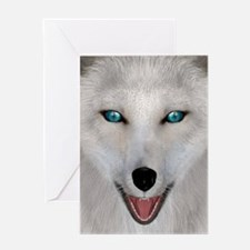 Arctic Fox Greeting Cards