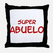 Super Abuelo Throw Pillow