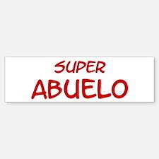 Super Abuelo Bumper Bumper Bumper Sticker