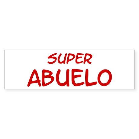Super Abuelo Bumper Sticker