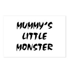 MUMMY'S LITTLE MONSTER! Postcards (Package of 8)