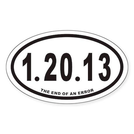 1.20.13 Euro Oval Sticker