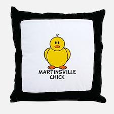 Martinsville Chick Throw Pillow